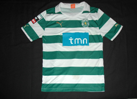 Personalized Sporting Lisbon shirt, player Onyewu 2011 12