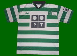 Camisola do Sporting da marca Leo, Juventude Leonina 2000 01