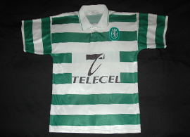 Likely from 1997/1998. No brand, the tag on this jersey says Made in Portugal.