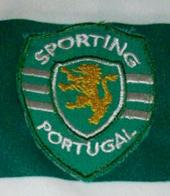 Equipamento do Centenário do Sporting parecido com o original, mas não é oficial