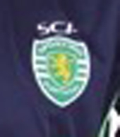 2013/14. Camisola contrafeita do Sporting, alternativa violeta, proveniente da China