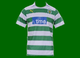 Bad fake Sporting Lisbon soccer jersey 2011/12