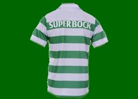 camisola listada do Sporting contrafeita, muito mal feita 2011/12