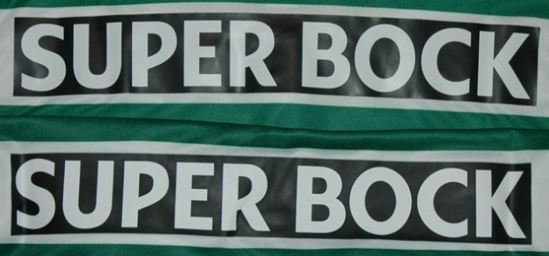 Pouca diferença: o patrocínio Superbock nas costas
