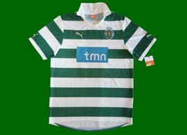 equipamento do Sporting soccertriads 2011/12 contrafeito