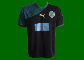 third kit Sporting Lisbon forged 2010 2011 sweat lion
