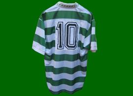 Sporting Clube de Portugal. Vencedor da Taça e Supertaça. Equipamento contrafeito, muito bonito