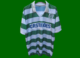 Fantastic Sporting Lisbon jersey, with number 10 on the back
