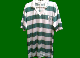 beautiful fake Sporting Lisbon shirt, not known brand, not known details