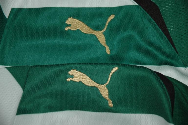 Terceira diferença: o Puma bordado