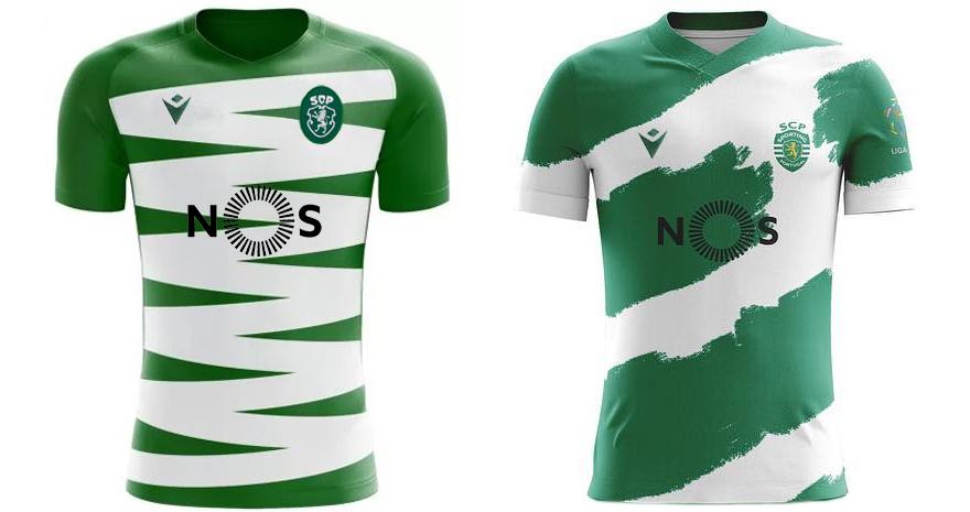 Isto não é a nova camisola do Sporting 2020 2021