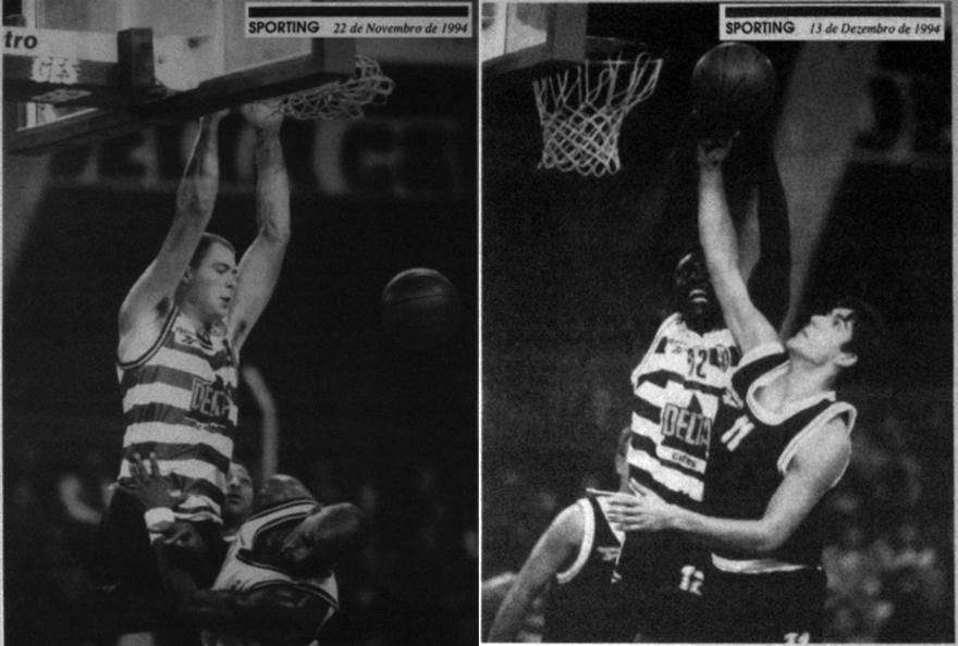 Jornal Sporting de 22 de novembro e 13 de dezembro de 1994