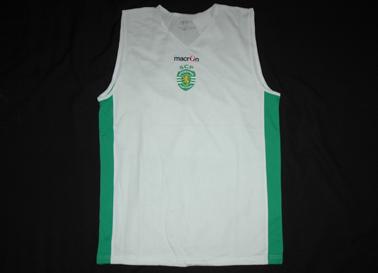 2016/17. Equipamento de treino de Basquetebol