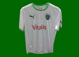 Away handball 2011/12 jersey Sporting