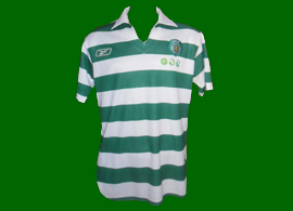 Match worn kit of Deo 2005/06, Sporting Lisbon futsal