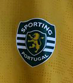 Camisola do Sporting do Futsal
