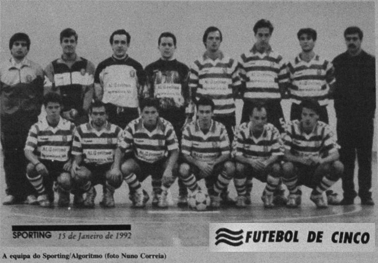 Sporting/Algoritmo: futebol de cinco em 1991