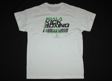 Bruno Susano, T-shirt from the second Sporting Lisbon Kickboxing Gala, 2 May 2015