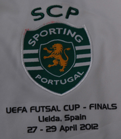 2011/12, away match worn futsal jersey, UEFA Futsal Cup Finals