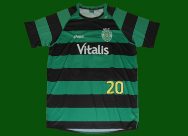 Sporting Lisbon away match worn shirt of João Antunes