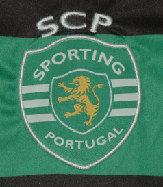 2012/13, Sporting Lisbon away match worn shirt of Sporting, Asics