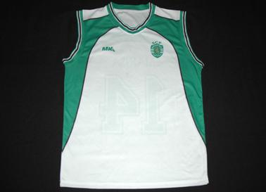 Sporting 12/13. Away basketball jersey game worn by player Marisa David