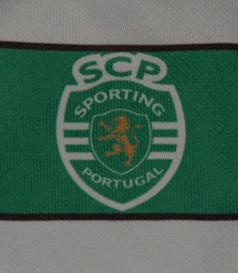 Camisola de jogo da equipa sub-14 de basquetebol masculino do Sporting