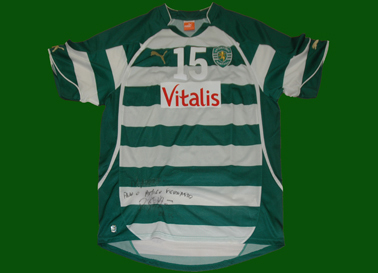 camisola de jogo do andebol do Sporting