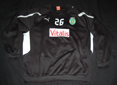 Match worn handball jersey of goalkeeper Sporting Ricardo Correia