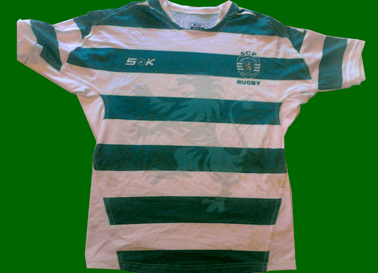Train/game jersey of SCP Touch Râguebi Sporting