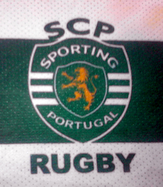 2013/14. Train/game shirt of SCP Touch Rugby Sporting