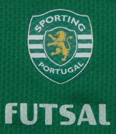 Deo futsal 2007 08 match worn Sporting Lisbon jersey