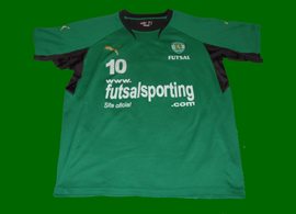 Deo futsal 2007/08 match worn Sporting Lisbon shirt