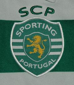 Camisola de jogo de juniores de andebol, da Puma Sporting