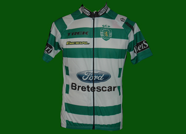 Camisola do ciclismo do Sporting Bretescar sub23 2009