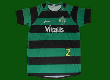 camisola alternativa do andebol do Sporting Edmilson Araújo