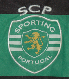 2012/13, Sporting Lisbon Asics jersey of handball Sporting
