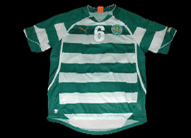 handball Match worn jersey, junior team Sporting 2010 2011