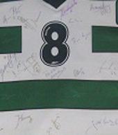 Andebol do Sporting, Equipamento de jogo autografado pelo plantel do Andebol de 2002/2003