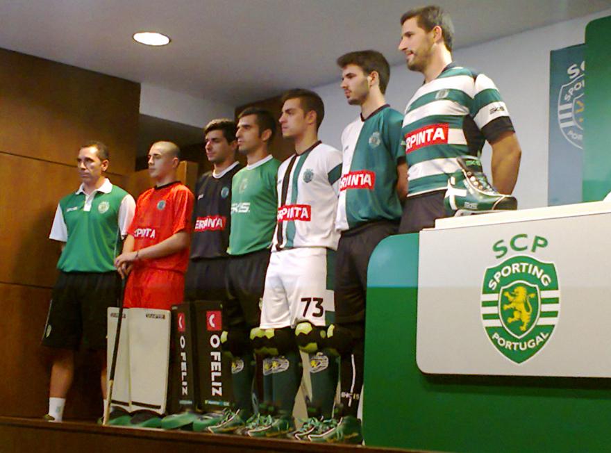 A apresentação dos equipamentos de hóquei do Sporting, a 26 de Setembro de 2013 no Auditório Artur Agostinho em Alvalade