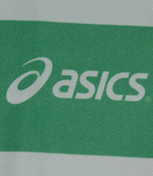 Camisola de atletismo do Sporting, feita pela marca japonesa Asics. Modelo Singlet Moniz