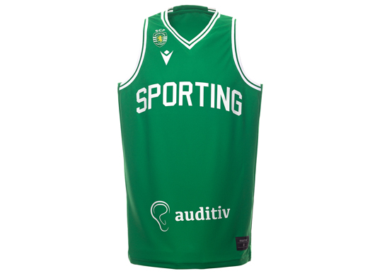 2020/21. Equipamento do Basquetebol do Sporting, Loja Verde