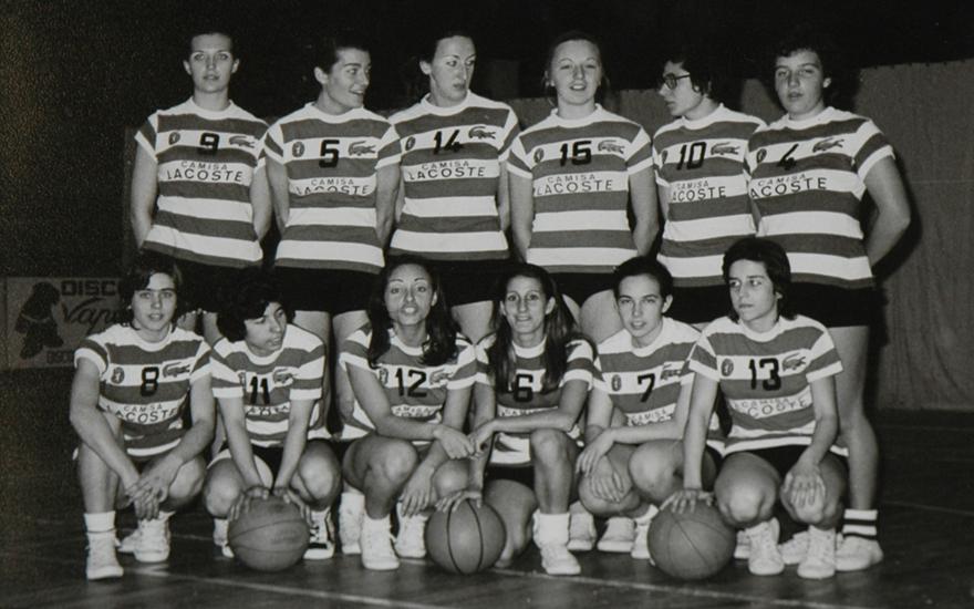 Equipa de basquetebol feminino do Sporting de 1971