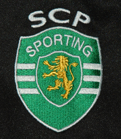 Blusão do basquetebol do Sporting