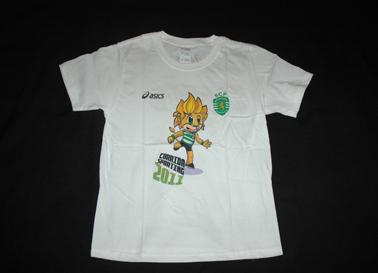 camisola da Corrida Sporting 2011, de criança, com o Jubas