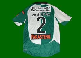 2012/2013, equipamento Stromp de futsal, usado pelo jogador de futsal Paulinho