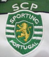 camisola de jogo assinada futsal do Sporting 00/01 04/05