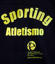 2013, hoodie made for the athletes and trainers of the Sporting Lisbon Athletics Academy