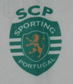 2013/2014. Away replic jersey sold by the Sporting Lisbon rollerskate hockey section