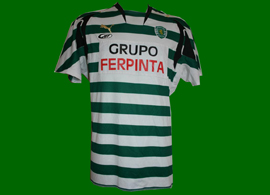 Sporting Lisbon game worn roller skate hockey, 2010/11 or beginning 2011/12